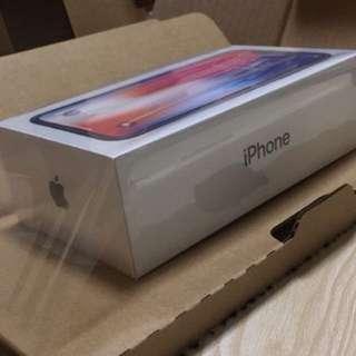 IPhone X 64Gb space gray factory unlock