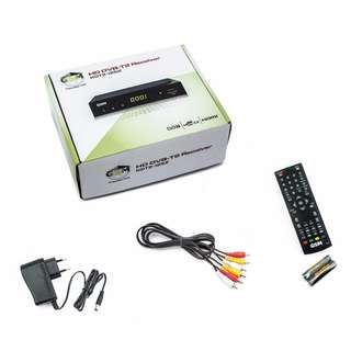 STB / Receiver TV Digital HDTV-1252 - Hitam