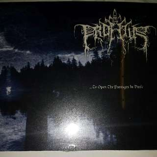 Music CD (Metal, Sealed): Profetus–...To Open The Passages In Dusk