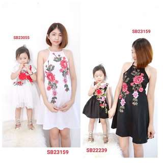 Mum and kids wear (wechat: Strawmint)