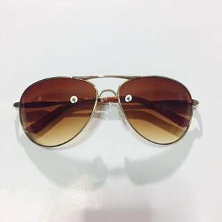 Pre-loved Gold/Brown Sunnies