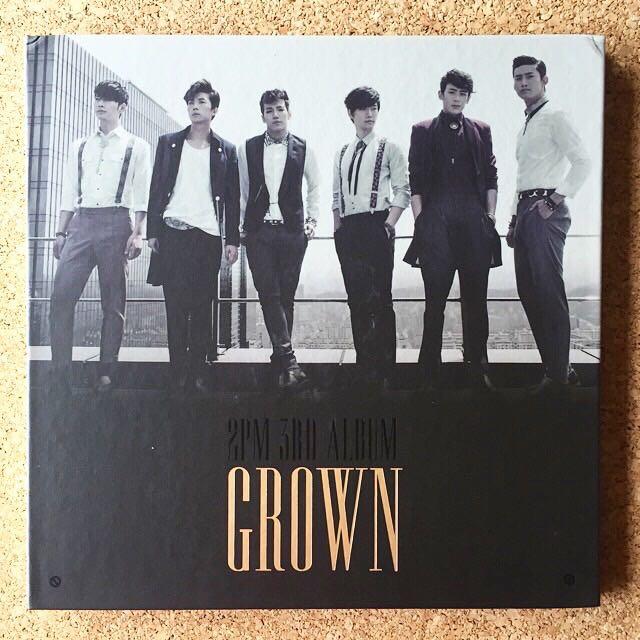 2PM - 'Grown' Album (CD + Photobook)