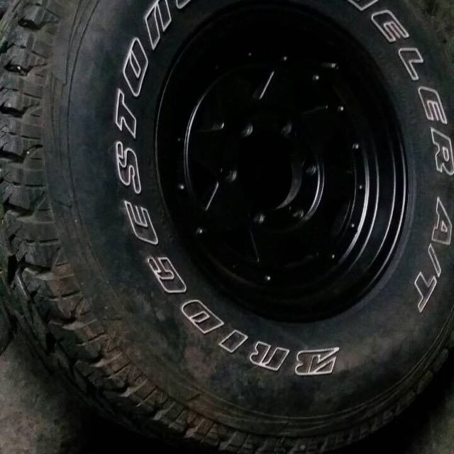 5pcs mags and tires package