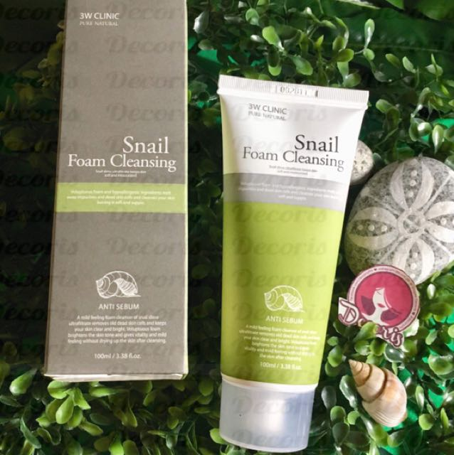 3w Clinic Snail Cleansing Foam 100ml