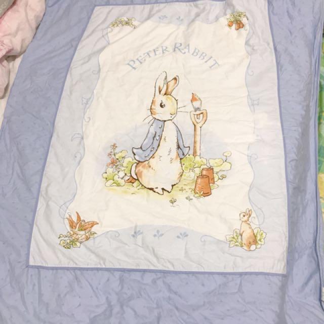奇哥彼得兔純棉鋪棉涼被