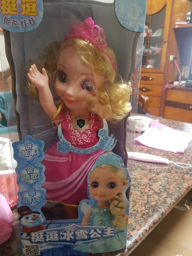 冰雪公主說故事