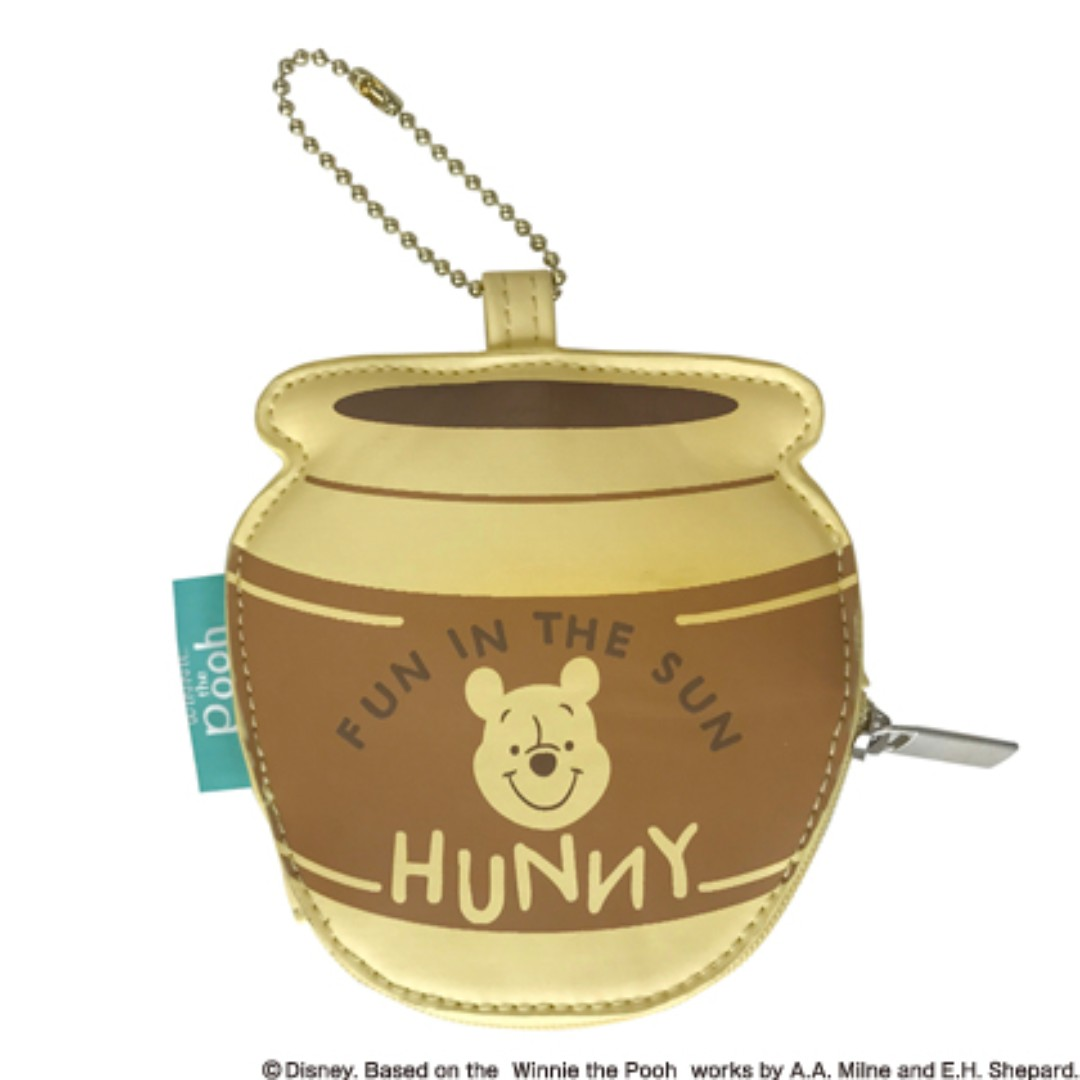日本郵局限定維尼 蜂蜜罐隨身包