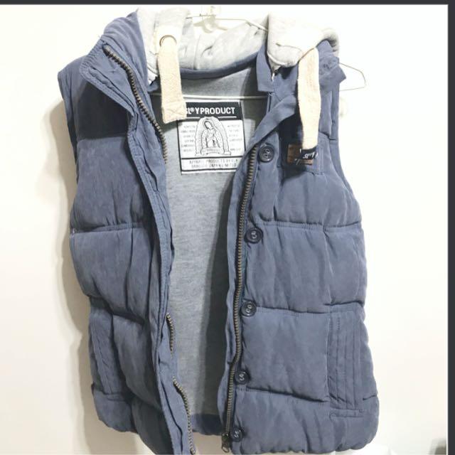 韓國 背心外套