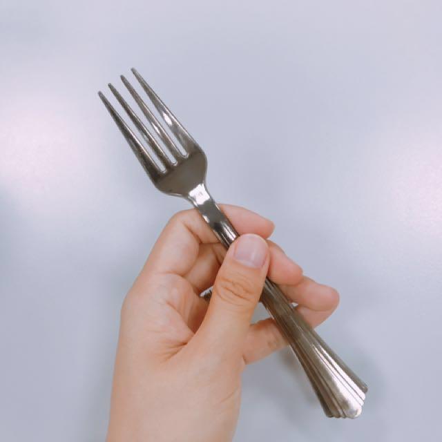 銀色免洗叉子 #幫我除舊佈新 #有超取最好買