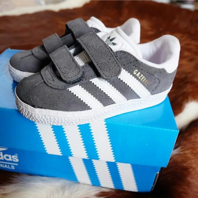 Adidas Gazelle Grey size: 20-25