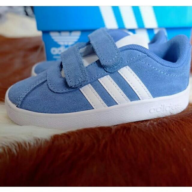 Adidas Neo Baby Blue size: 20-25