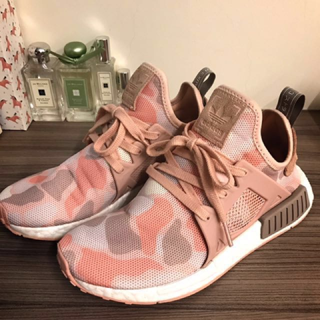 Adidas Nmd XR1 粉紅迷彩  24.5