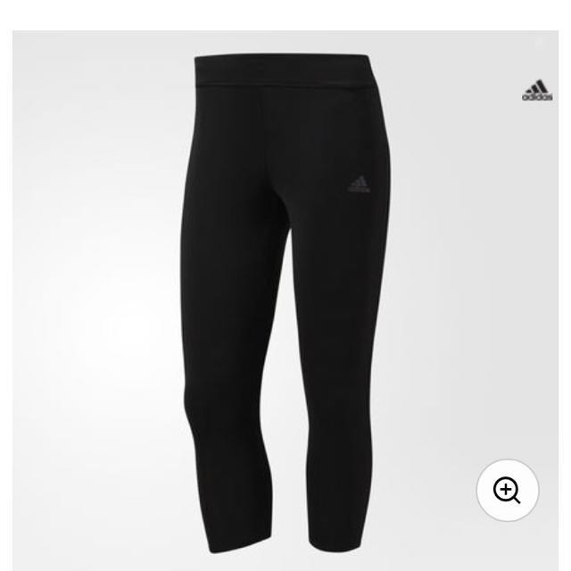 Clothes, Shoes & Accessories Activewear Reasonable Adidas Black Three-quarter Bottoms Xs Bnwts