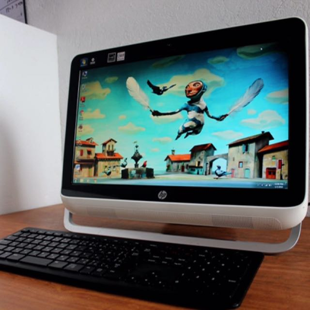 All in One Pc Hp Amd Dual Core 320gb hardrive Free Deliver