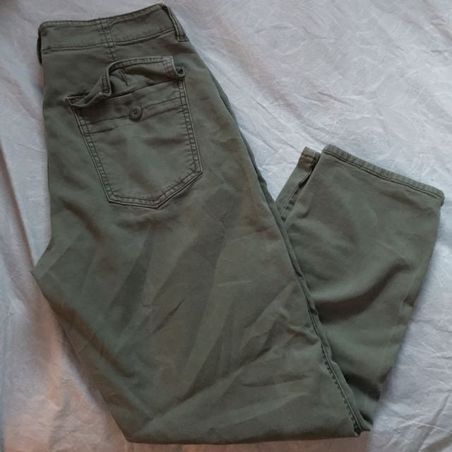 American Eagle Green Jeans Size 8