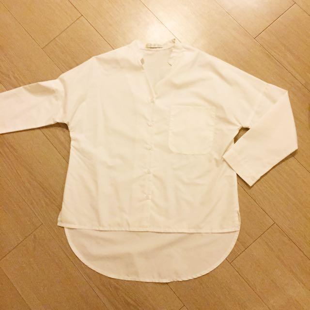 Anonim white shirt