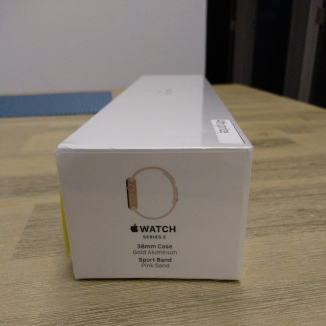 Apple Watch Series 3 38mm Gold Aluminum Pink Sand Sport Band Mobile Phones Tablets Others On Carousell