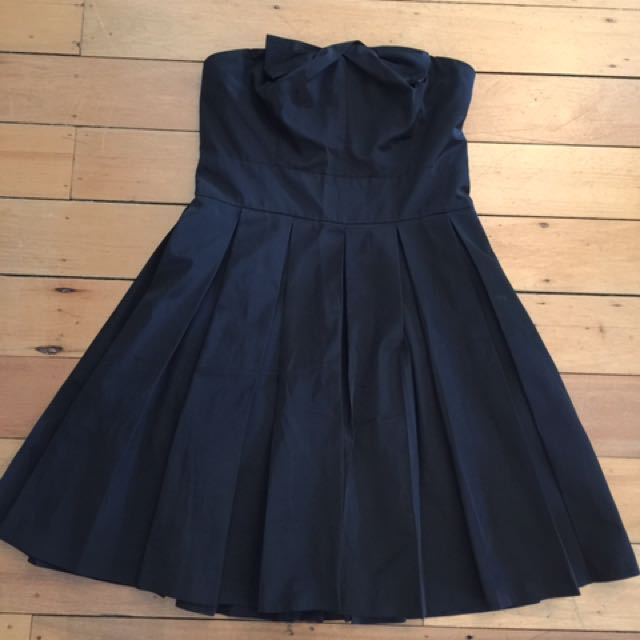Armani Exchange Black Cocktail Dress Size 6 exc. cond.