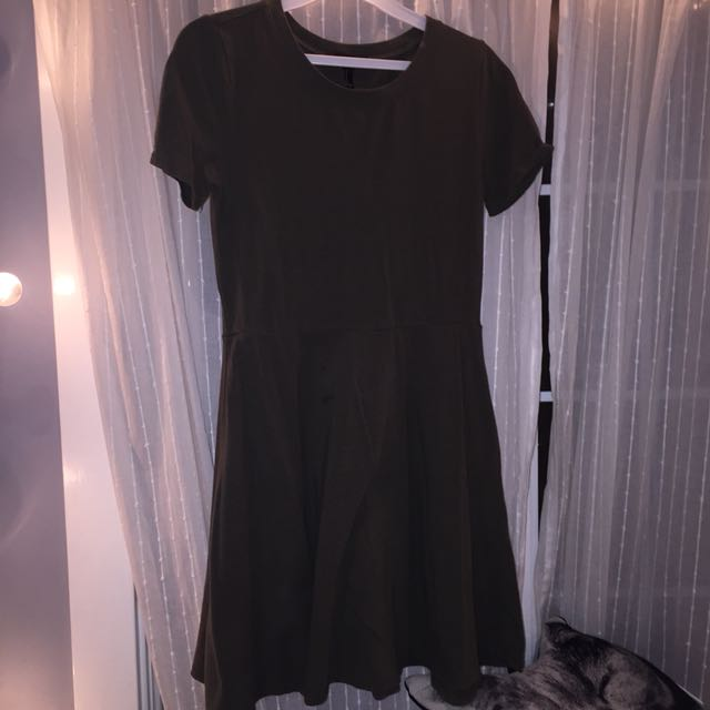 Army Green Dress Forever 21