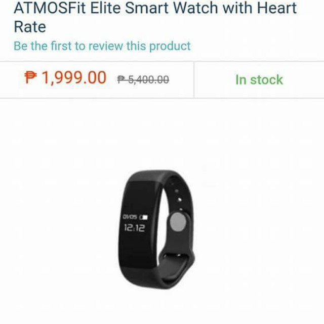 Atmostfit Elite Smart Fitness Band 450php only