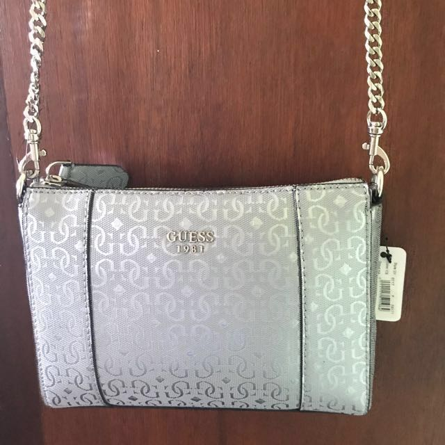 Authentic Guess Sling Bag, Women's Fashion,