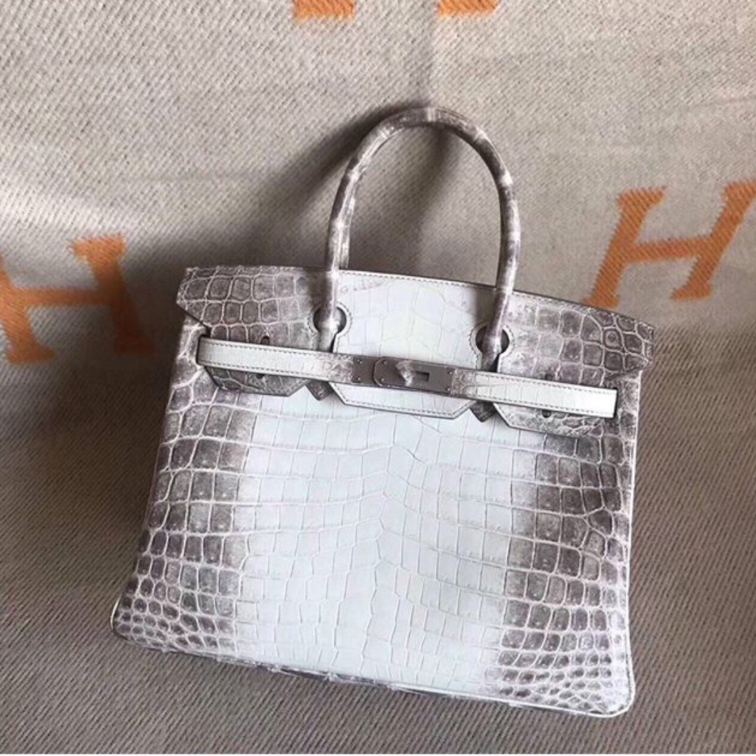 beec936559a ... shopping authentic hermes birkin 30 himalayan phw stamp a womens  fashion bags wallets on carousell 2ee39
