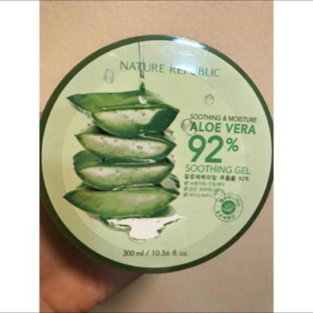 Authentic Nature Republic Aloe Vera Gel