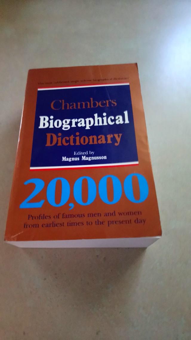 Biological dictionary
