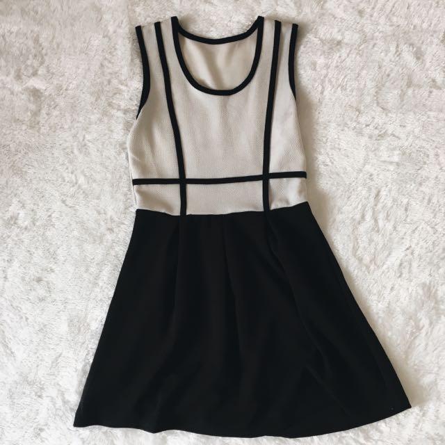 Black & White Dress