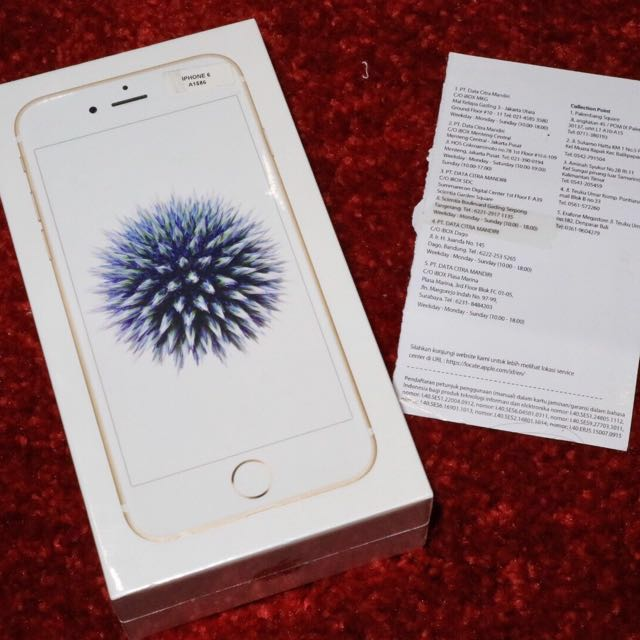 BNIB IPhone 6 32Gb Garansi Resmi Apple Indonesia