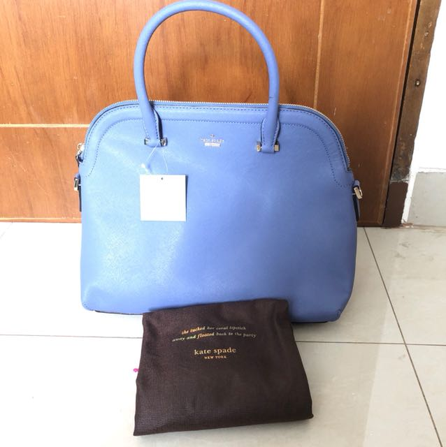 BNWT Kate Spade New York Margot Cameron Street Colour Oysterblue