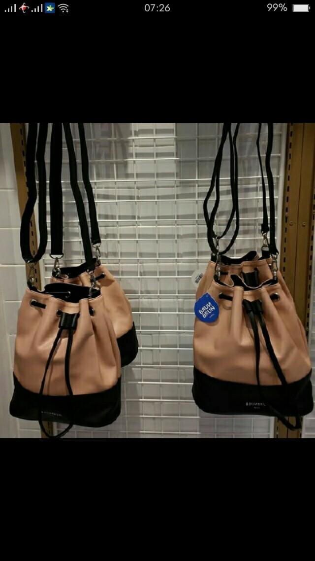 brun brun sling bag serut
