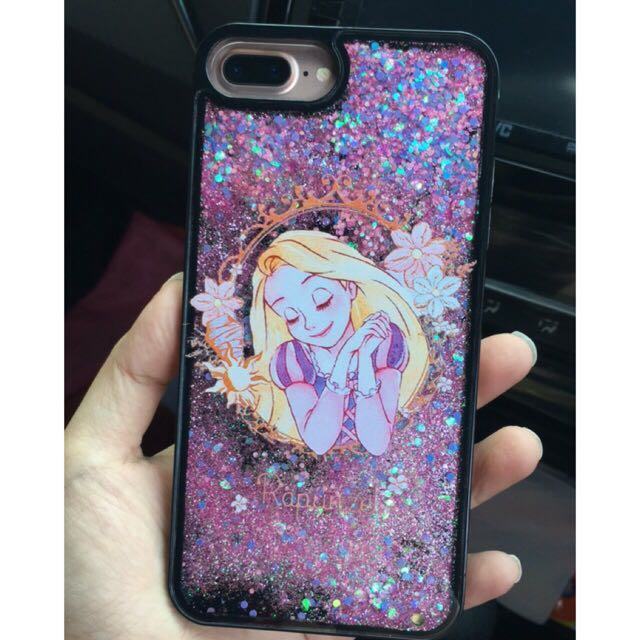Case iPhone 6/6s Liquid Glitter Rapunzel