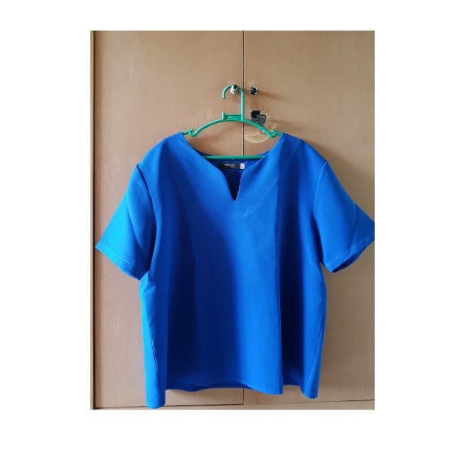 Casual Blue Top