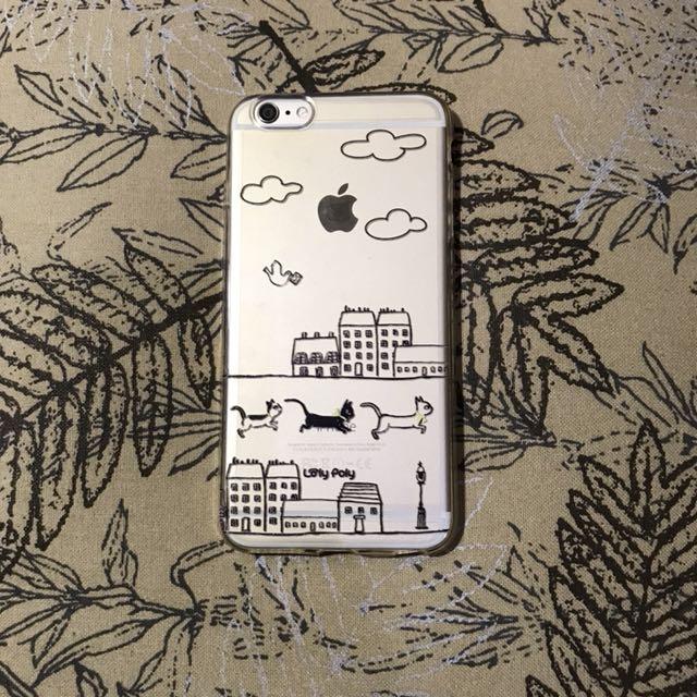 Cat iPhone 6 PLUS Soft Case