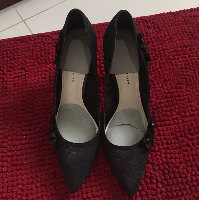Charles and Keith high heels shoes