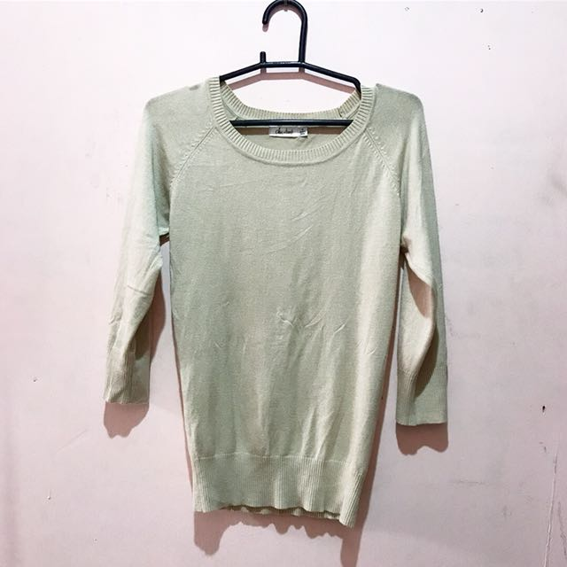 Chicabooti Beige Knitted Top