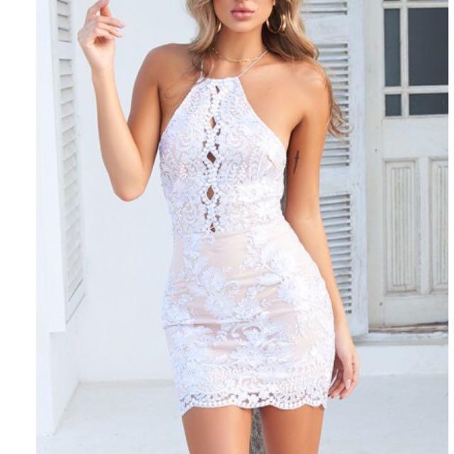 Chiffon boutique dress