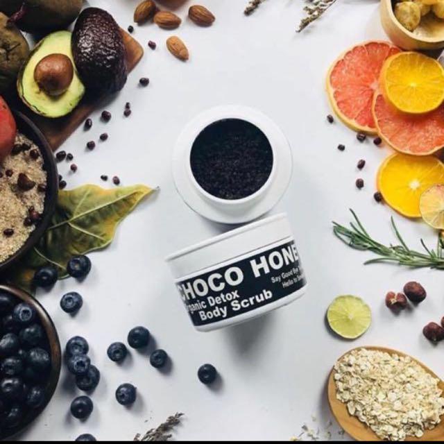 Choco Honey Organic Detox Body Scrub