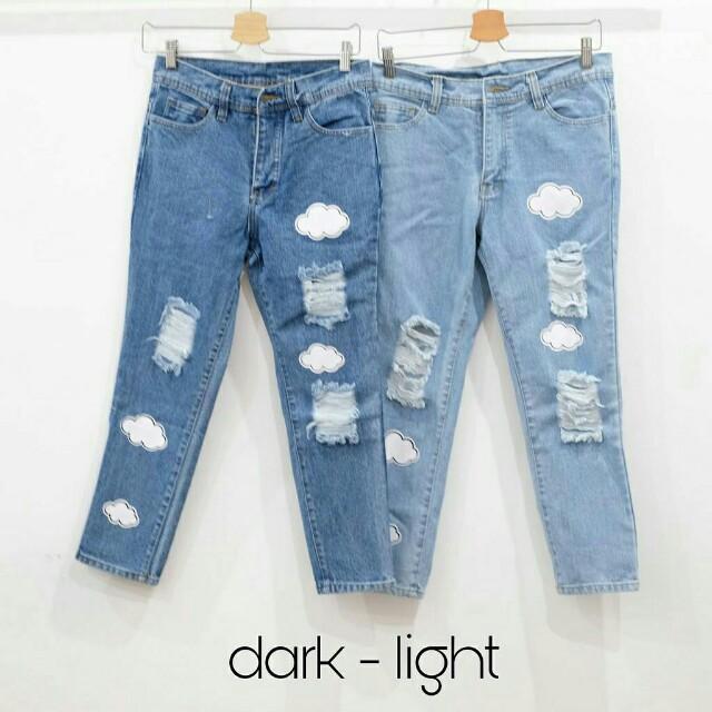 Cloud jeans