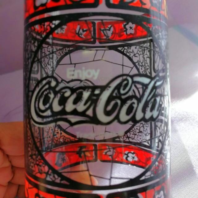 經典兼罕有80年代COCA COLA可囗可樂玻璃杯