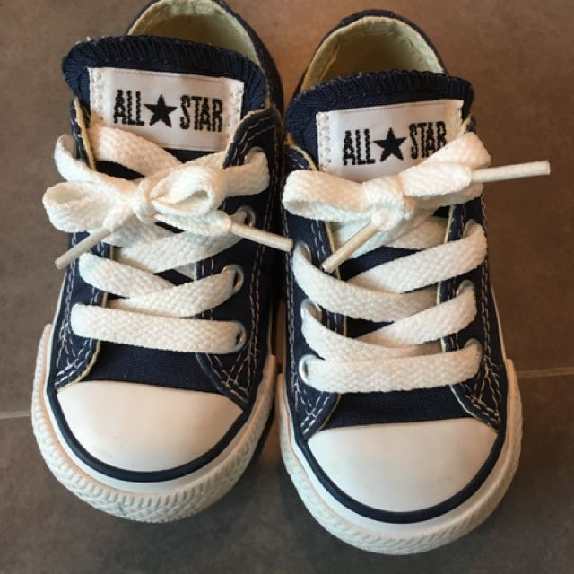Converse Baby Shoes Babies Kids Boys Apparel On Carousell