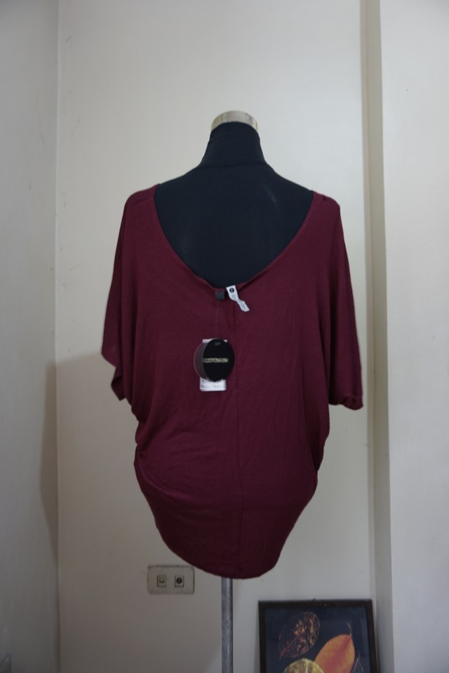 Cotton On Maroon Top