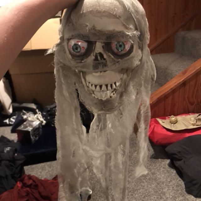 Creepy Skull Head