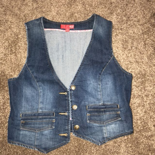 Denim coat. AU size 12