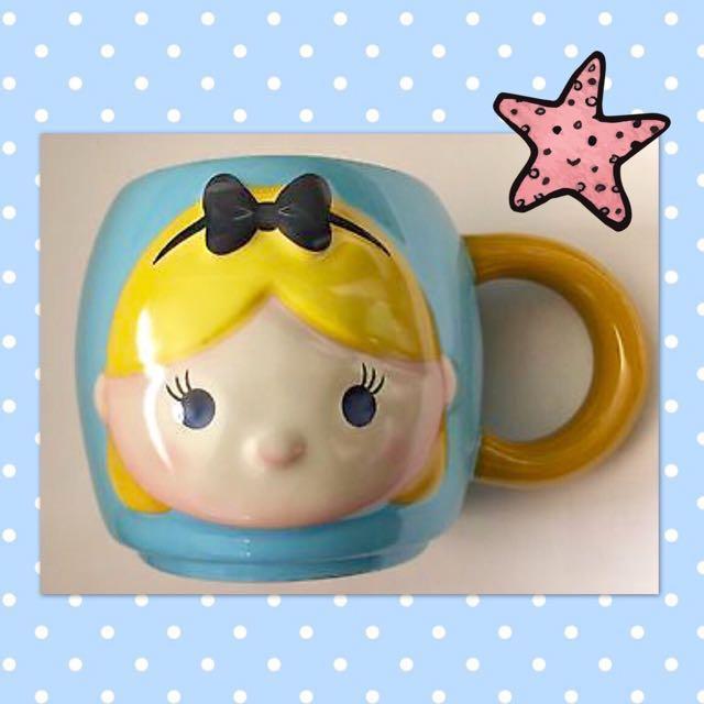 Disney Alice in Wonderland Tsum Tsum Mug 16 oz