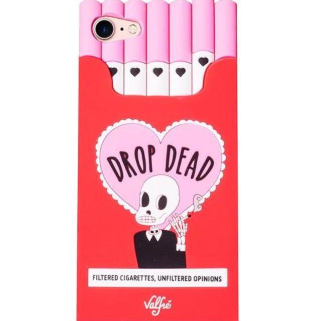 Drop dead cigarette iPhone case