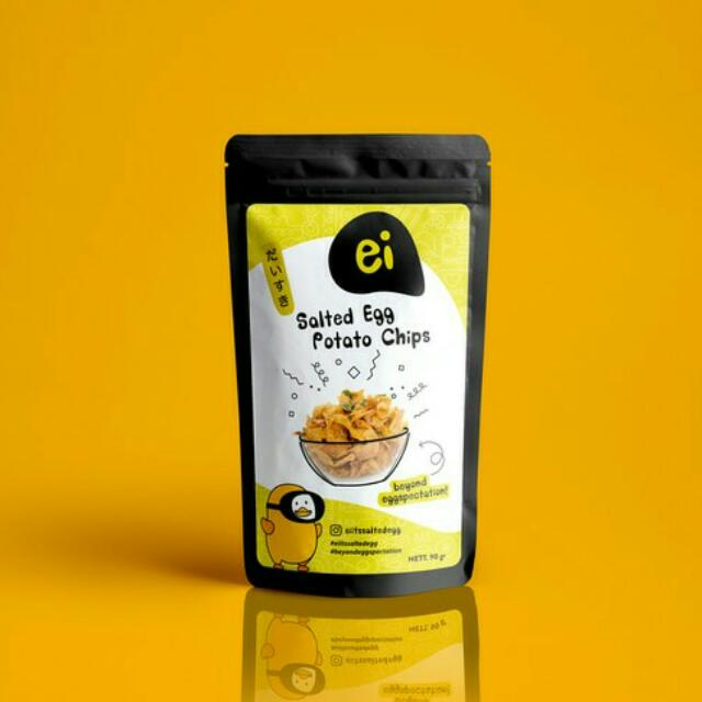 Ei Salted Egg Potato Chips