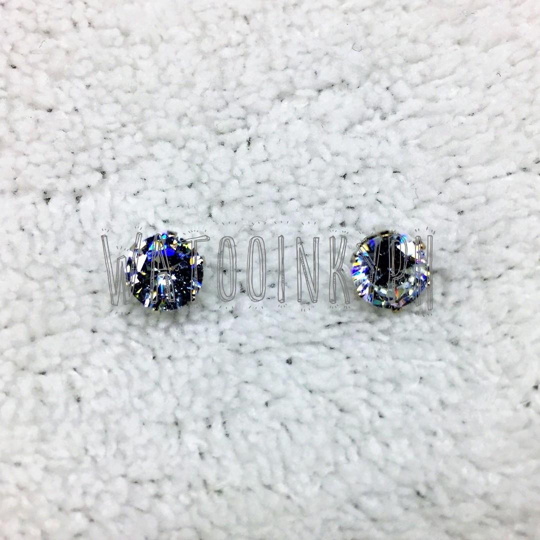 Elegant Faux Diamond Earrings