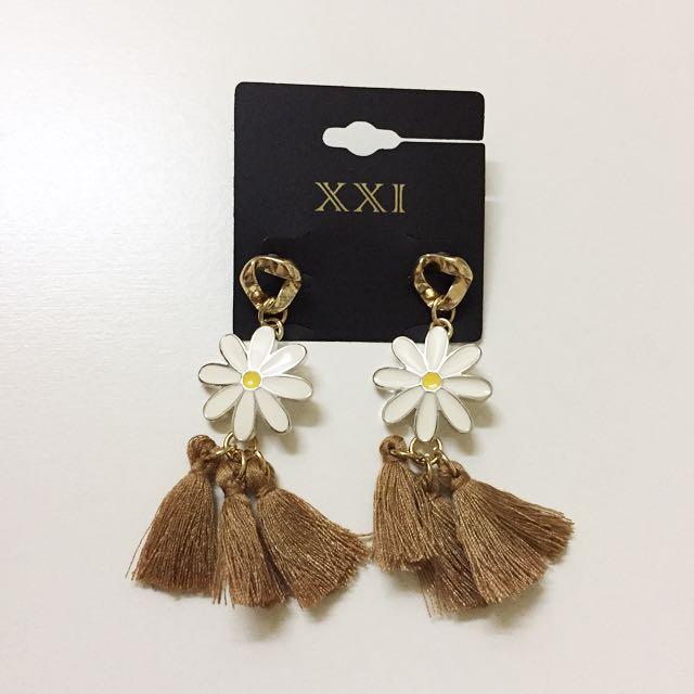 F21 Tassel Earrings